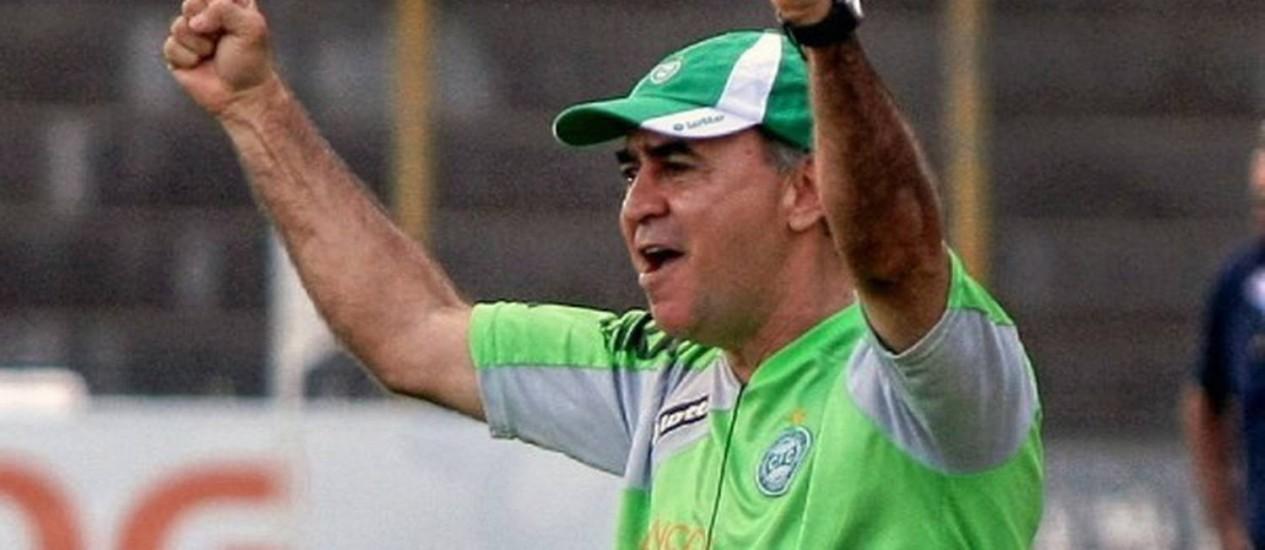 Marcelo Oliveira deixou o Coritiba após quase dois anos Foto: Reprodução do site oficial do Coritiba