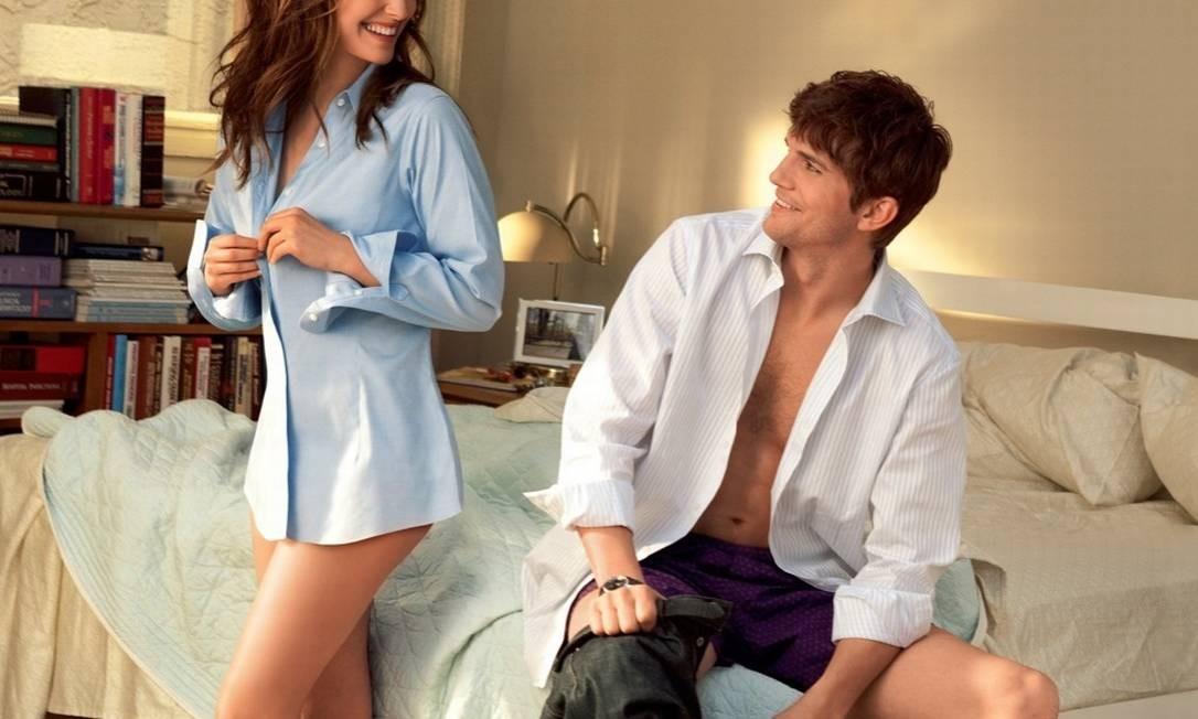 """Os atores Natalie Portman e Ashton Kutcher em cena do filme """"Sexo sem compromisso"""" (2011) Foto: Divulgação"""