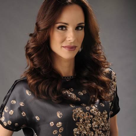 A apresentadora Ana Furtado Foto: TV Globo/ Estevam Avellar