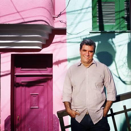Ricardo Rodrigues: 'eu sempre explico para o pessoal: se a gente for para o Rio, vai ser mais um; em São João de Meriti, somos só nós' Foto: Leonardo Aversa / O Globo