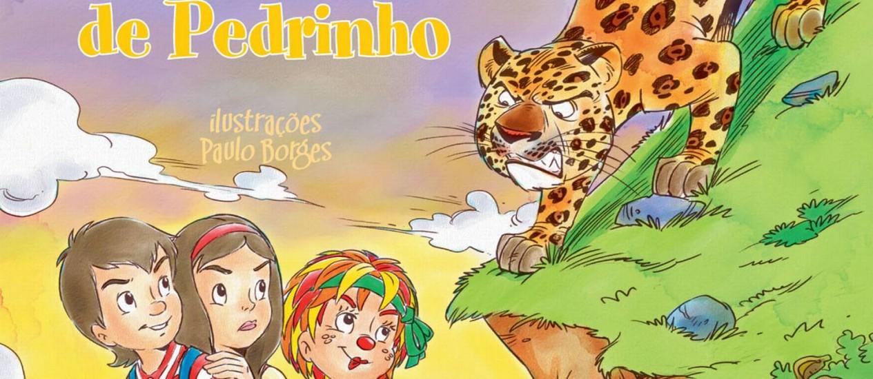 Capa de 'Caçadas de Pedrinho', versão da Globo Livros Foto: Divulgação