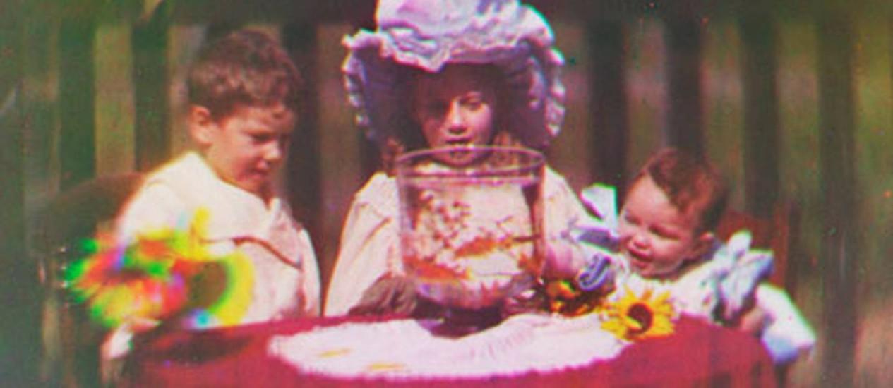 Imagem do filme feito por Edward Turner, em 1901 Foto: Reprodução/The Guardian
