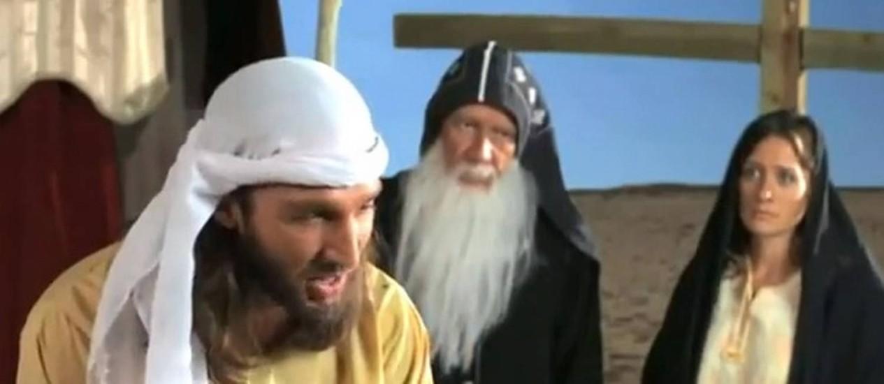 """Cena de """"Inocência dos muçulmanos"""" Foto: Reprodução"""