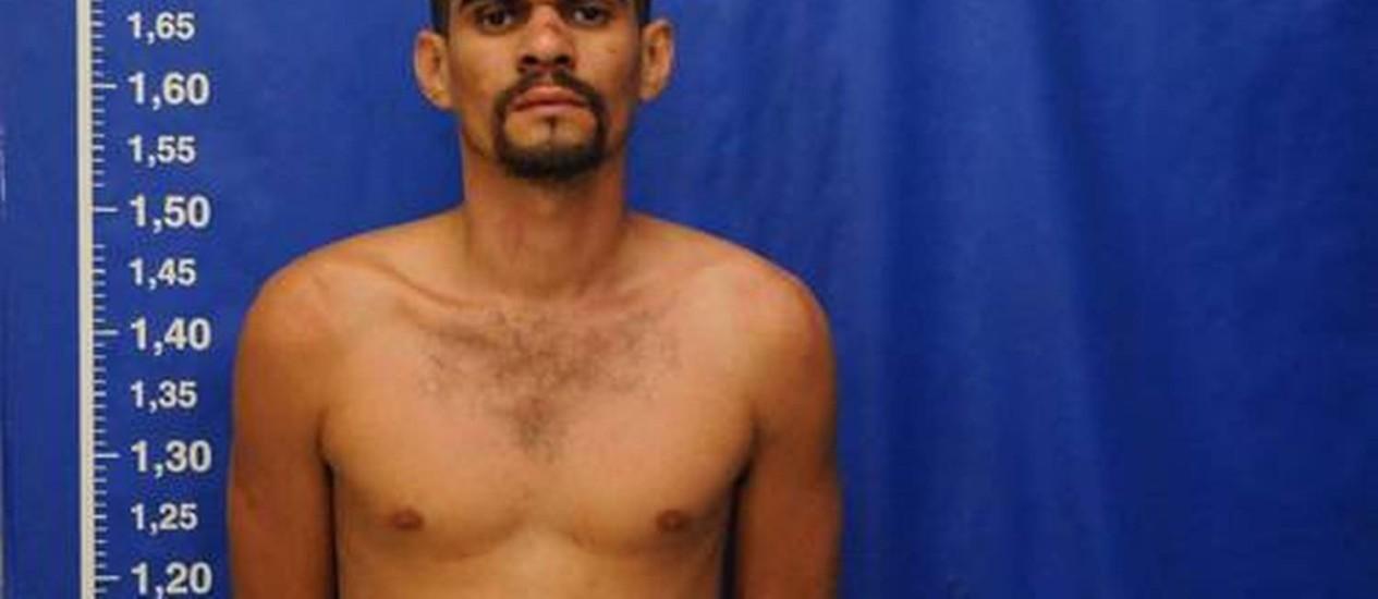 Traficante Diego de Souza, resgatado por bandidos de dentro de delegacia pouco tempo depois de ser preso Foto: Nina Lima / Extra / Agência O Globo