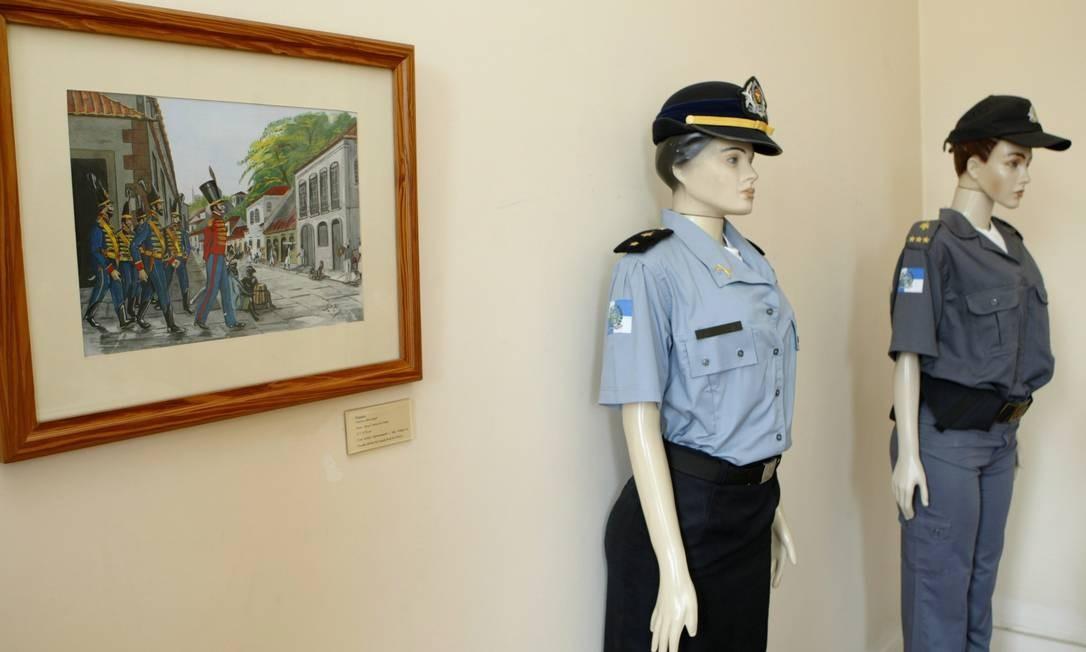 Museu da Polícia Militar tem um acervo de cerca de 6 mil objetos Foto: André Teixeira / O Globo