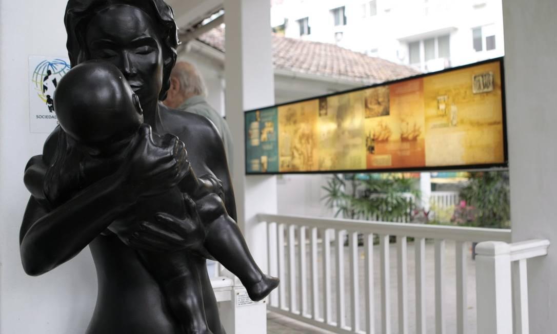Apesar da beleza, Museu da Pediatria tem média de visitação de quatro pessoas por mês Foto: Gustavo Stpehan / O Globo