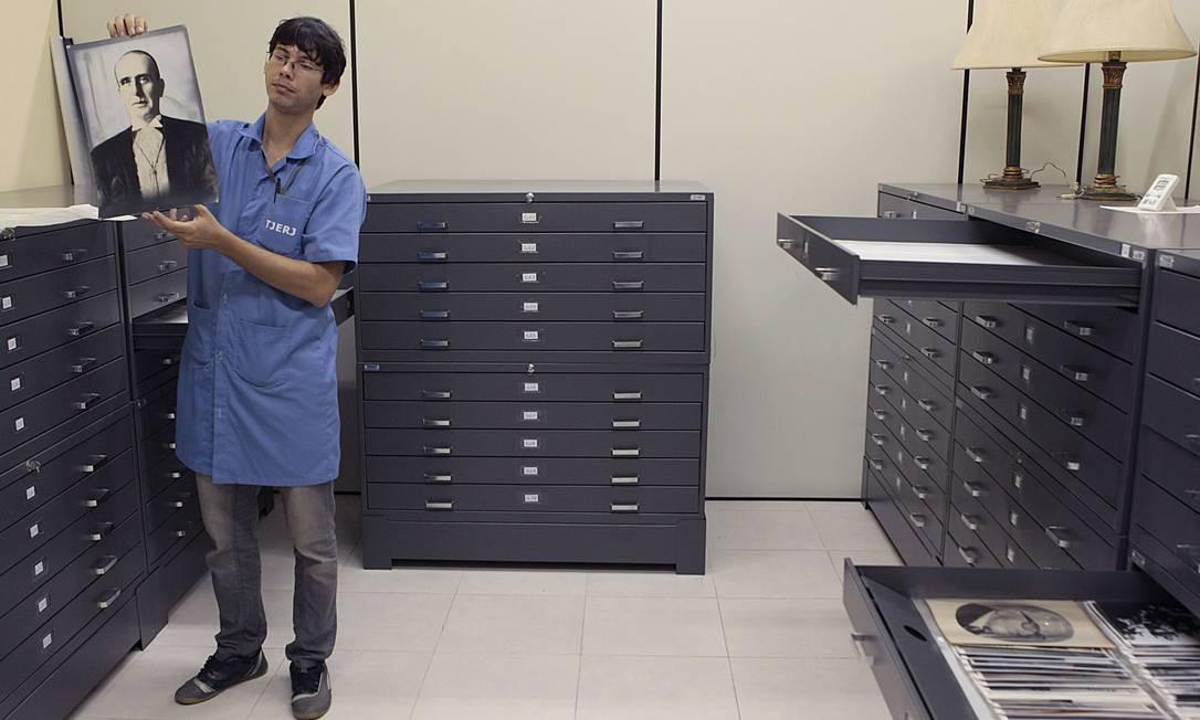 Museu da Justiça reúne acervo de 20 mil documentos, inclusive manuscritos, que marcam a História do Poder Judiciário no Brasil Foto: Gustavo Stephan / O Globo