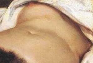 """Quadro """"A origem do mundo"""", de Gustave Courbet foi doado ao Museu D'Orsay, em Paris, em 1995. Sua exibição motivou a interrupção da transmissão da palestra de Jorge Coli na ABL. A palestra fazia parte do ciclo"""