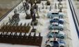Miniaturas. No Museu da Polícia Militar, no Centro, a história da corporação