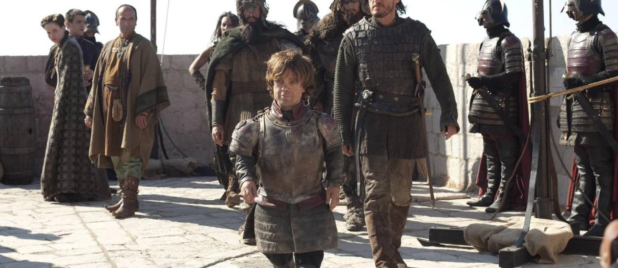 A série 'Game of thrones' ganhou seis prêmios no Creative Arts Emmys Foto: Divulgação