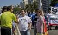 Freixo defende coexistência entre religiões em ato na orla de Copacabana