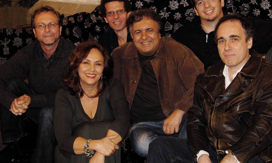 Murray, Jane Duboc, Trope, Moura, Curi e Neto: reunião 29 anos depois Foto: Divulgação