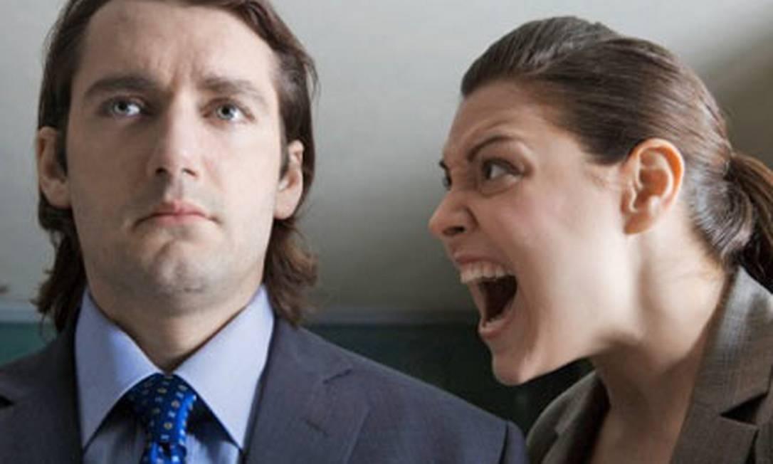 Ter que conviver com um chefe que berra com seus funcionários, seja qual for o motivo, pode ser frustrante para a maioria dos profissionais Foto: Reprodução da internet