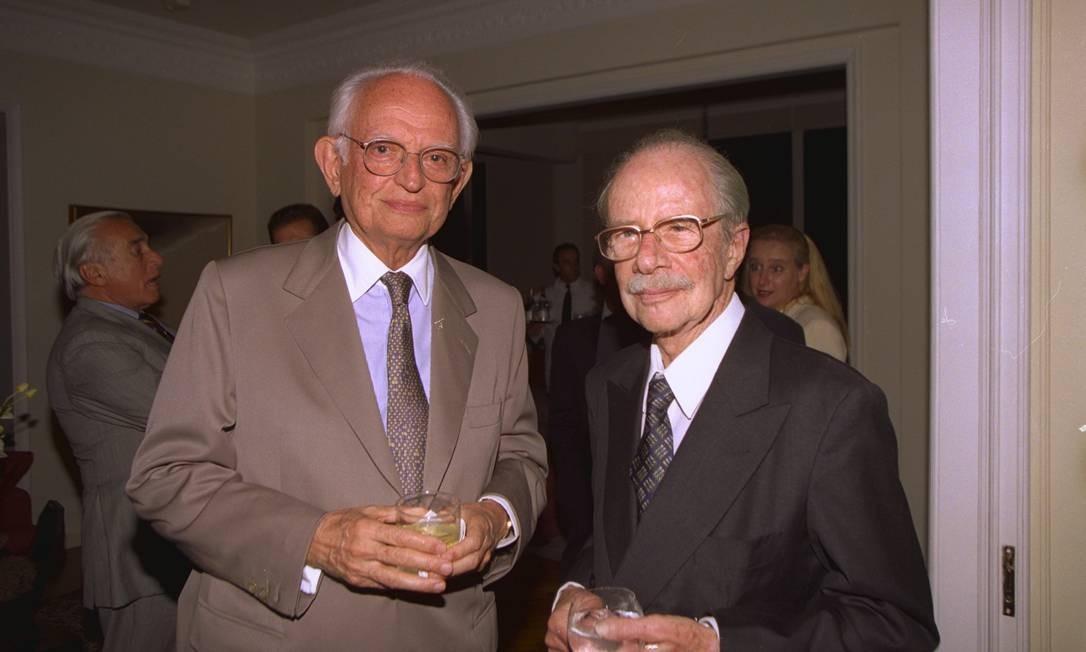 O empresário Hans Stern: herança bilionária pode ser dividida entre mais dois herdeiros Foto: Marcos Ramos/18-11-1998 / O Globo