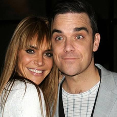 Ayda Field e Robbie Williams Foto: Reprodução