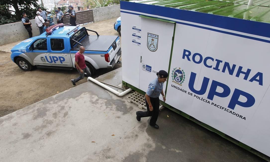 A UPP da Rocinha Foto: Roberto Moreyra / Extra