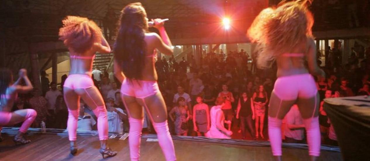 Grupo As Pretas se apresenta numa das edições da 'Uh! Baile é nosso' Foto: Divulgação