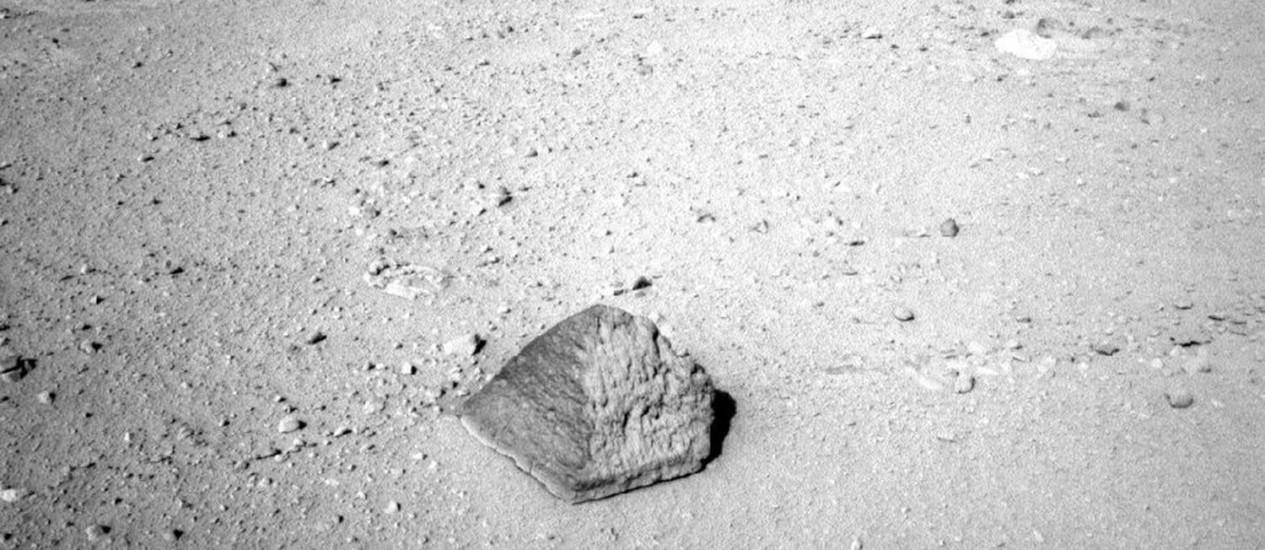 """O nome """"Jake Matijevic"""" é uma homenagem ao falecido engenheiro-chefe do Laboratório de Ciência de Marte Foto: Divulgação/Nasa"""