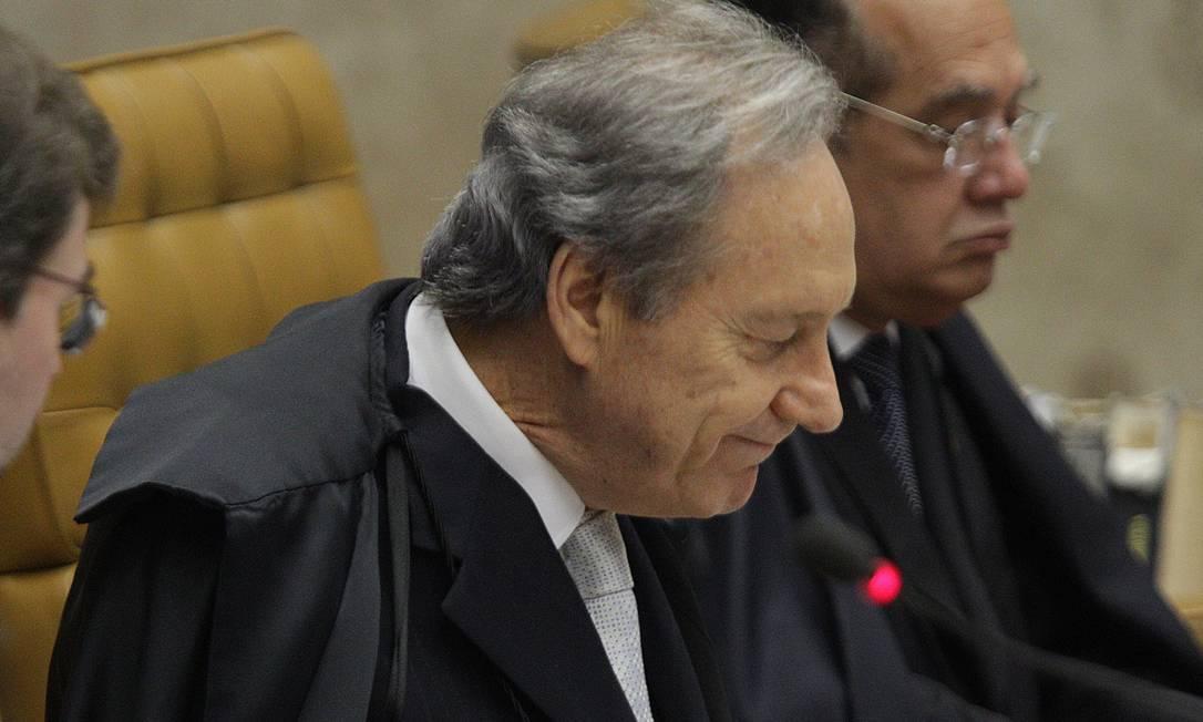Ministro revisor do julgamento do mensalão, Ricardo Lewandowski Foto: Agência O Globo / André Coelho