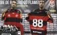 Renato Santos e Cléber Santana são apresentados no Ninho do Urubu