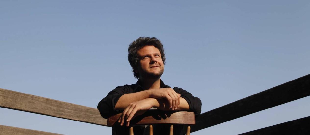 O ator e diretor Selton Mello Foto: Ana Branco