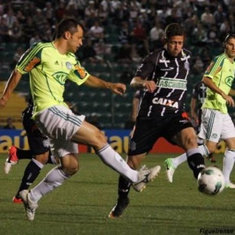 O Palmeiras derrotou o Figueirense por 3 a 1 Foto: Divulgação / Figueirense