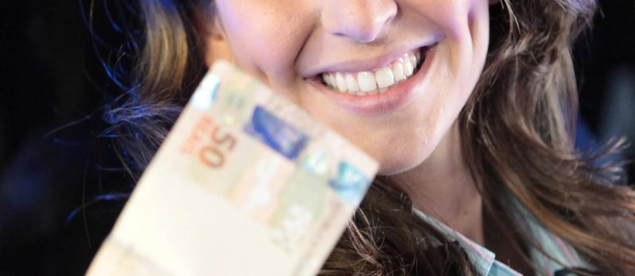 Ana Carolina Paiffer, que dá consultoria financeira ao Clube das Luluzinhas, agora mais restrito Foto: Eliária Andrade