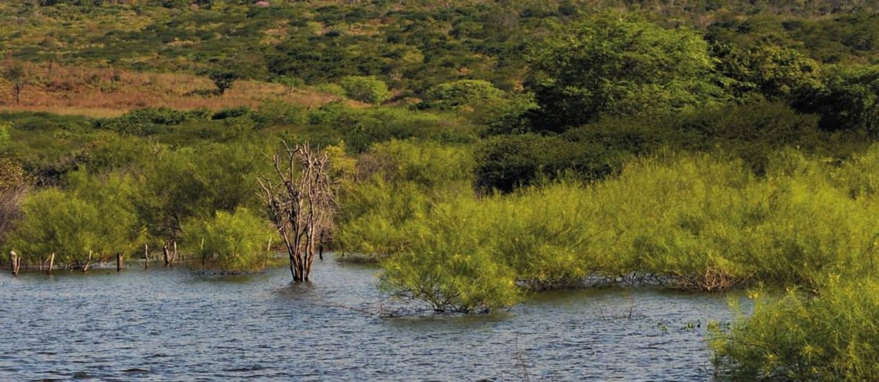 <br /> Obras de transposição das águas deverão gerar mudanças na paisagem<br /> Foto: José Alves Siqueira