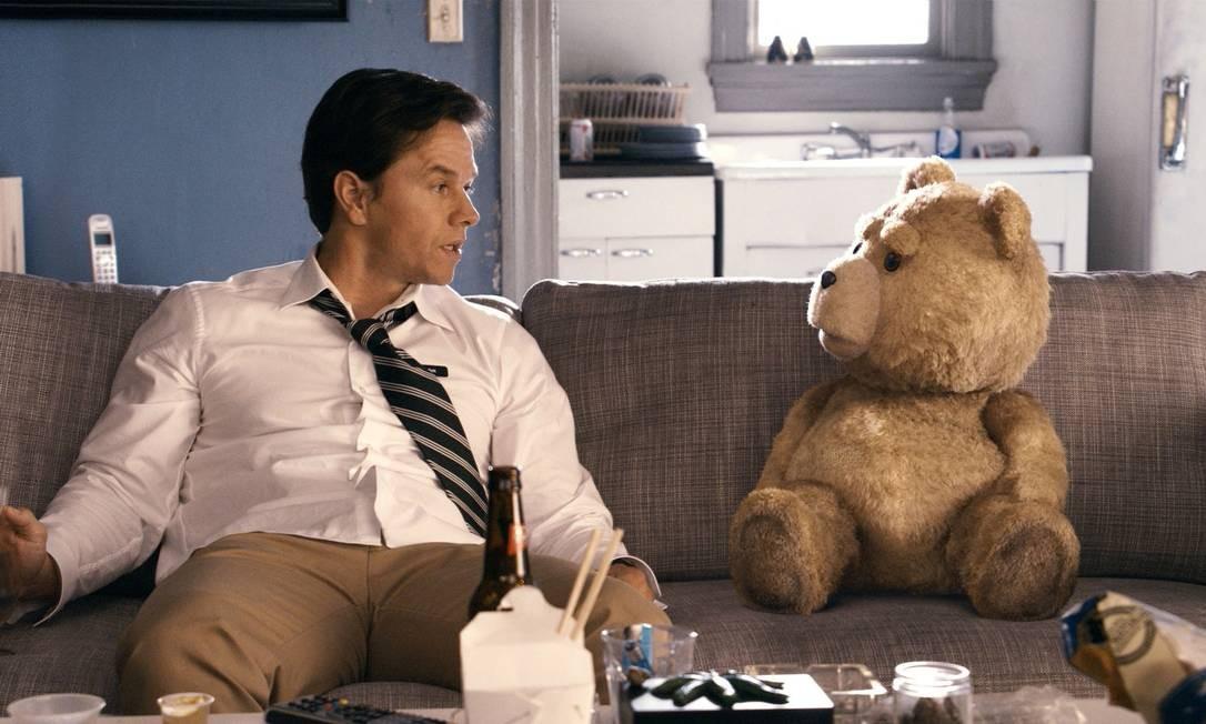 Cena do filme 'Ted', de Seth MacFarlane Foto: Divulgação