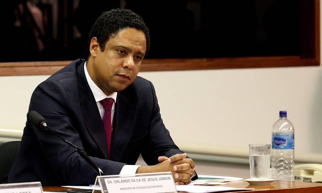 Orlando Silva, ex-ministro do Esporte Foto: Agência O Globo/Ailton de Freitas – 25/10/2011