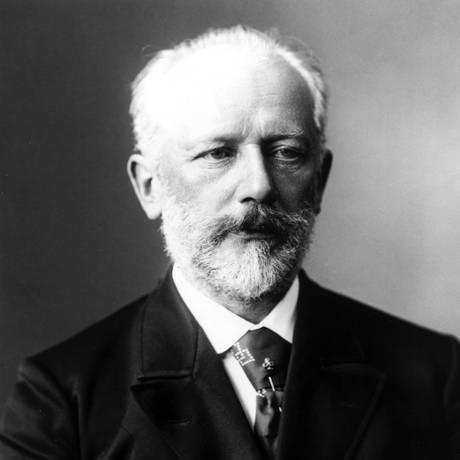 O compositor Tchaikovsky, em foto da biografia traduzida do russo por George Ermakoff Foto: Divulgação