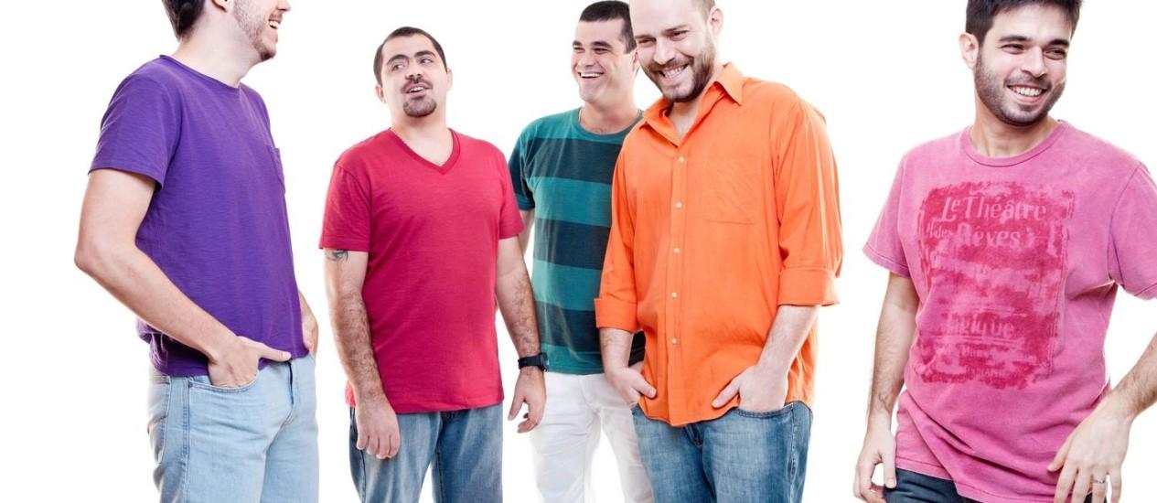 Integrantes do grupo se conheceram há dez anos num curso de teoria musical Foto: Divulgação/Casuarina
