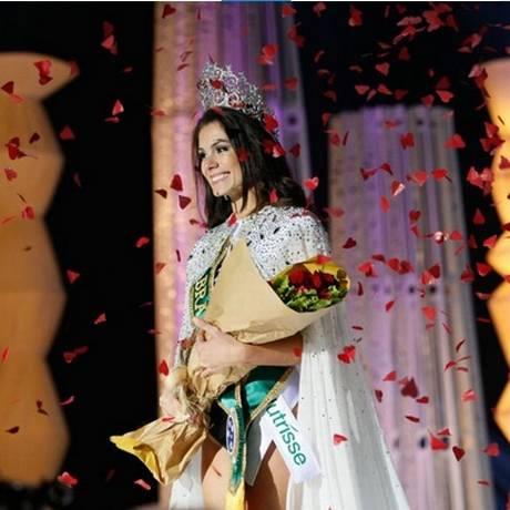Gabriela Markus é coroada Miss Brasil 2012 Foto: Divulgação Band / Carol Gherard