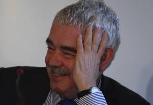 """Distinção. Pasqual Maragall foi eleito """"catalão do ano"""" em 2007 Foto: Gabriel de Paiva/18-3-2010"""