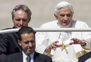 Paolo Gabriele é acusado de roubar e vazar documentos secretos do Vaticano e pode pegar até quatro anos de prisão Foto: Andrew Medichini / AP