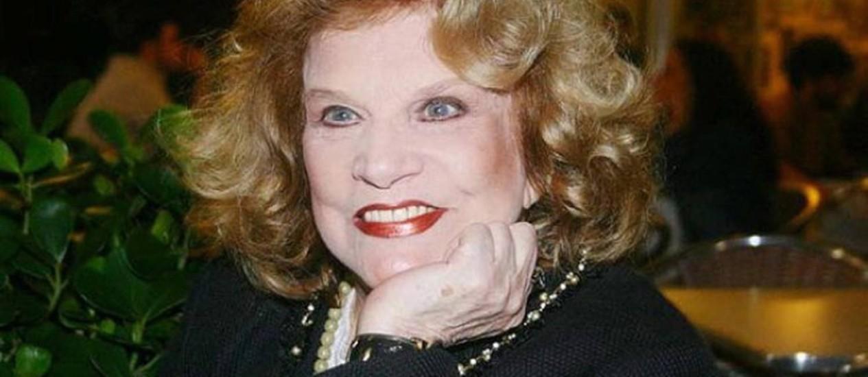 Tonia Carrero completou 90 anos em agosto Foto: Divulgação