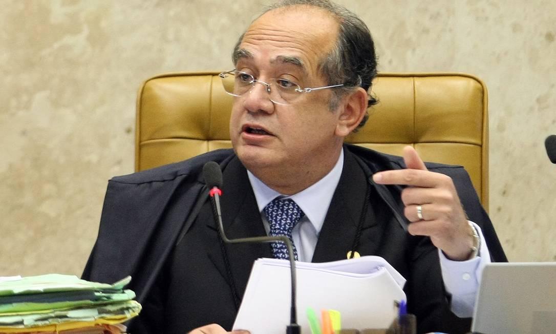Ministro Gilmar Mendes Foto: Agência O Globo / Ailton de Freitas