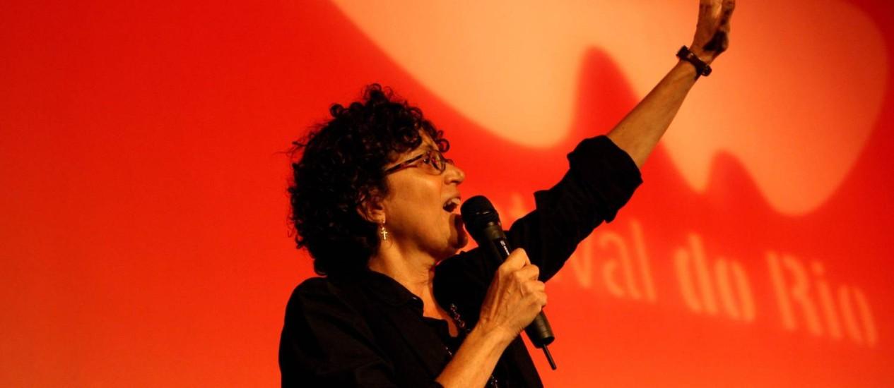 A diretora Malu de Martino apresenta 'Margaret Mee' no Festival do Rio Foto: Angelo Antônio Duarte