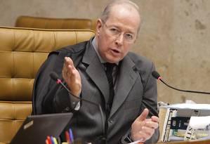 Ministro Celso de Mello Foto: Agência O Globo / André Coelho