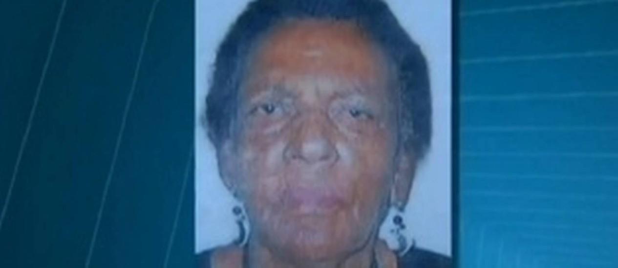 Idosa Ilda Maciel: morte após receber sopa na veia em hospital Foto: TV Globo / Reprodução