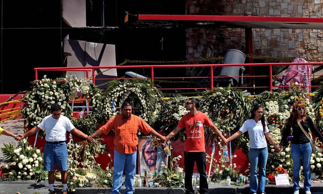 Foto ganhadora do prêmio mostra trabalhadores do cassino Royale Foto: EL UNIVERSAL/Jorge Serratos
