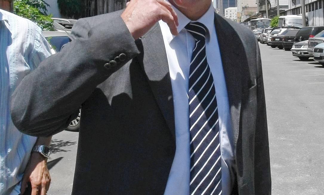 Claudio Ferraz, então chefe da Draco, em fevereiro de 2011 Foto: Bruno Gonzalez / Extra / O Globo