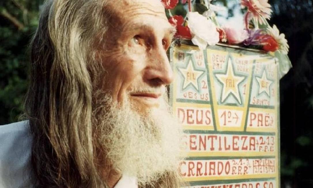 Nascido José Datrino, o homem que pregou nas ruas de 1961 a 1995, quando morreu, hoje é tema de artigos em revistas de arte internacionais Foto: Divulgação