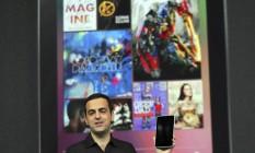 Tipo exportação. Hugo Barra, da Google, apresenta o Nexus 7: estudos no MIT ajudaram a conquistar uma posição na gigante da internet Foto: jim wilson/the new york times