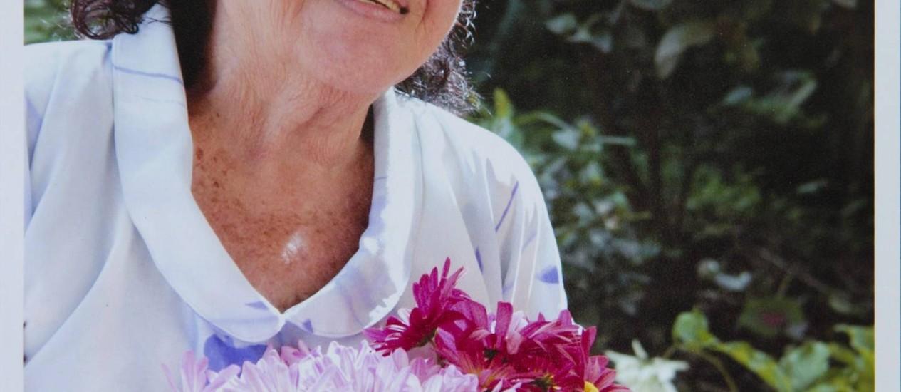 Dona Palmerina Lopes Ribeiro, que morreu após ter café com leite injetado na veia por erro médico Foto: Reprodução