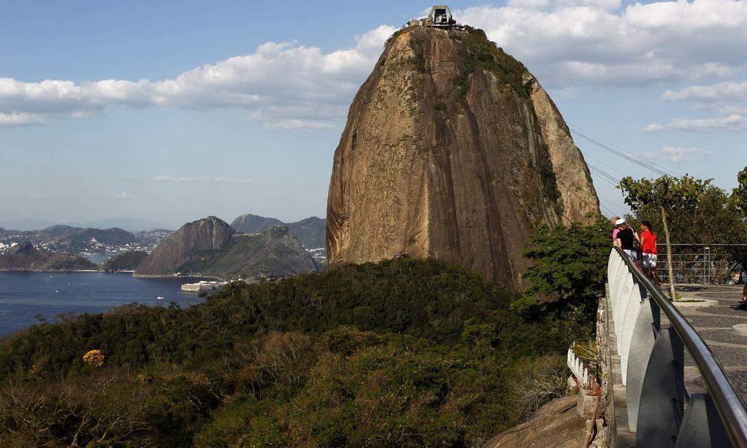 O Pão de Açúcar é um dos mais famosos cartões postais do Brasil e uma das sete maravilhas do Rio Custodio Coimbra / O Globo