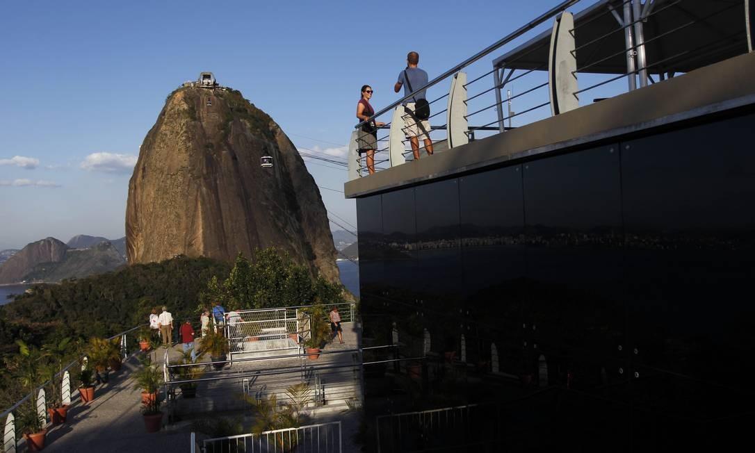 Em cem anos, bondinho do Pão de Açúcar transportou cerca de 40 milhões de pessoas Foto: Custodio Coimbra / O Globo