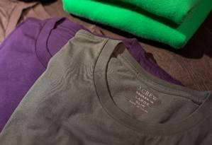 Manutenção das cores de peças do vestuário depende de como é feita a lavagem Foto: Lam Yik Fei / Bloomberg