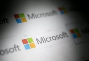 Novo visual da marca Microsoft Foto: Bloomberg