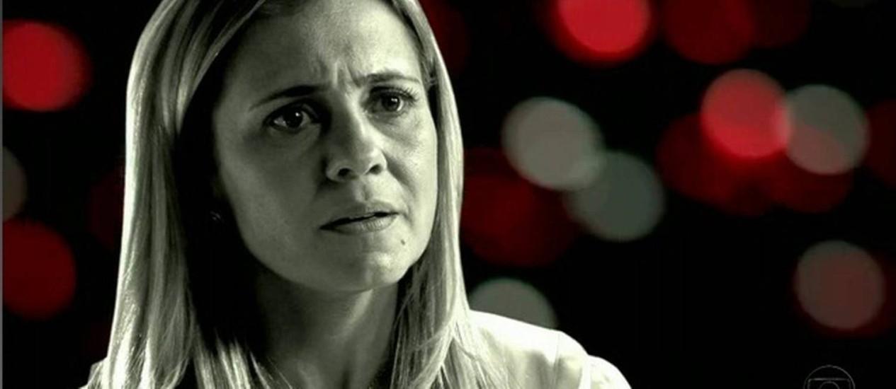 Adriana Esteves como a Carminha de 'Avenida Brasil': fenômeno Foto: Reprodução